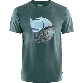 Fjällräven Gädgaureh '78 Camiseta Hombre, verde